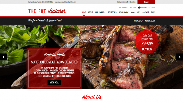 The Fat Butcher Website